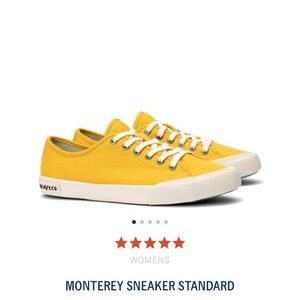 SeaVees orange sneakers